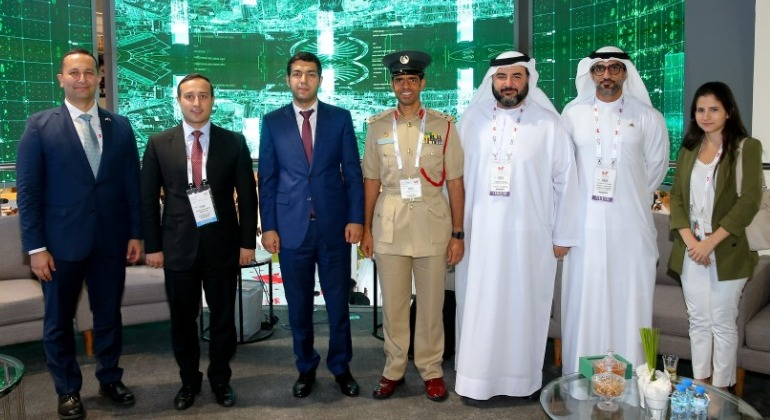 Delegation of the State Agency has attended at GITEX Technology Week