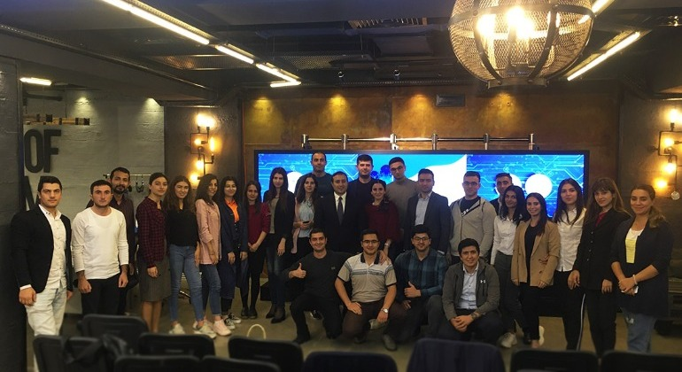 "The next training within the ""Youth"" program was held at the E-GOV Development Center."