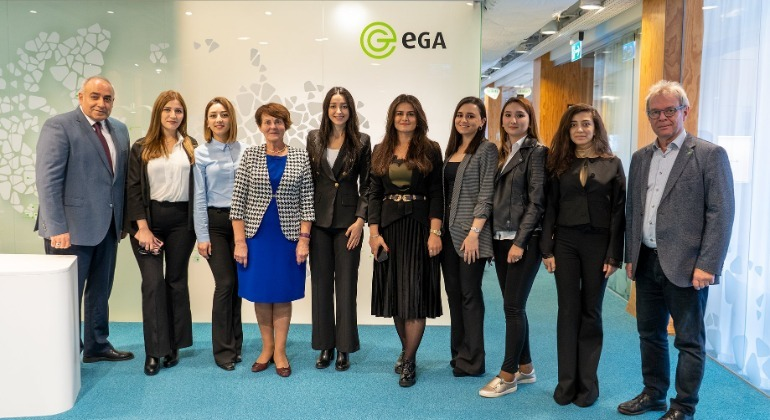 "Employees of the ASAN service who have completed the ""Women's Participation Program"" visited Estonia."