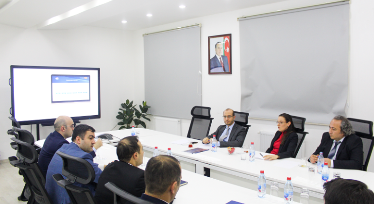 "A meeting was held with the e-Government and Information Society of ""Turksat"""