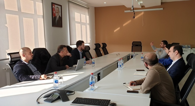 A meeting with Microsoft Azerbaijan was held at the E-GOV Development Center