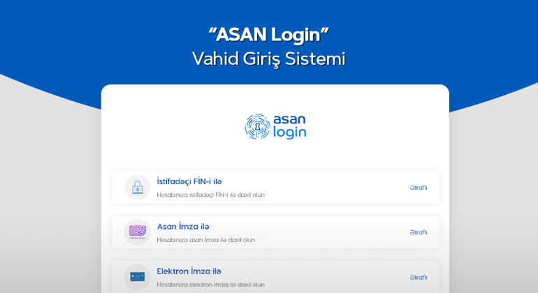 In April, more than 264,000 citizens have registered through the ASAN Login system.