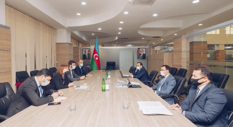 The chairman of the State Agency met with the GIZ delegation