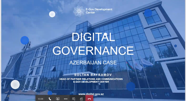 An online meeting was held with the relevant agency of Hungary in the field of public services and digital government