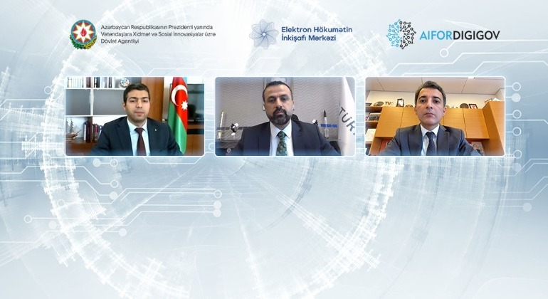 "An international conference on ""Artificial Intelligence in Digital Governance"" continues"